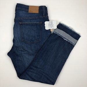 J. Crew Slim Broken in Boyfriend Jeans